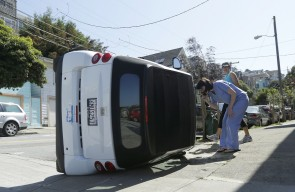 Smart Car tipping is the cow tipping of urban cities.