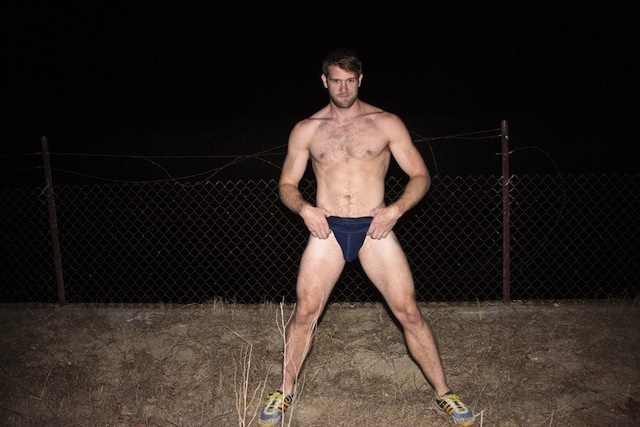 Colby Keller traveling gay dude