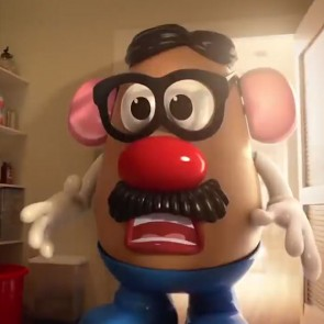 Scared Potato Head