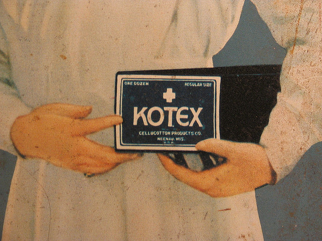 Old school Kotex