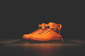 Orange Buscemi Shoes