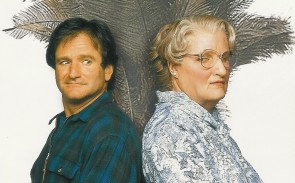 Robin Williams's transformation into Mrs. Doubtfire took more than 4.5 hours.