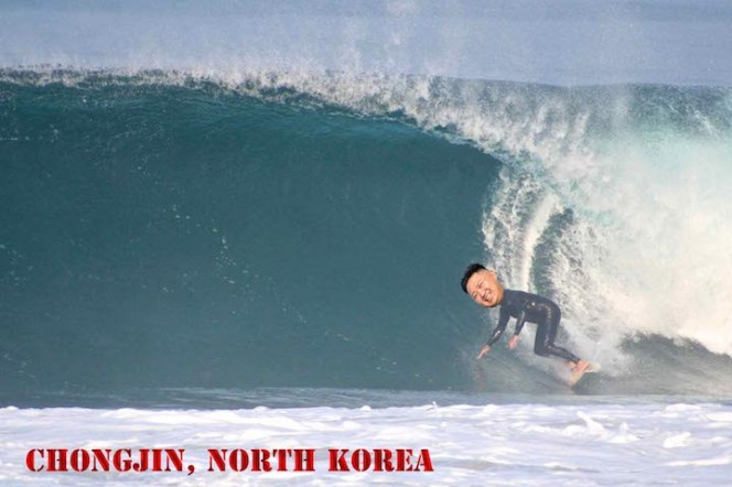North Korea Surfing