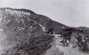 The Hollywood sign was built to last only eighteen months.