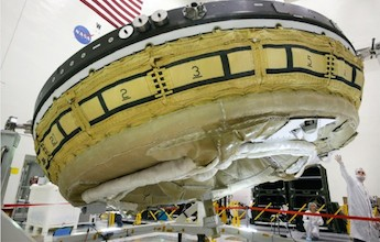 nasa's flying saucer