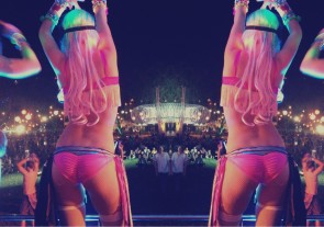 rave dancer butts