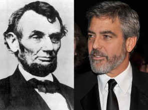 George Clooney is related to Abraham Lincoln.