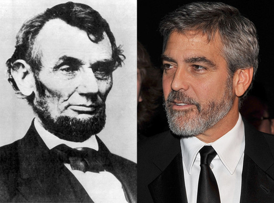 Lincoln and CLooney