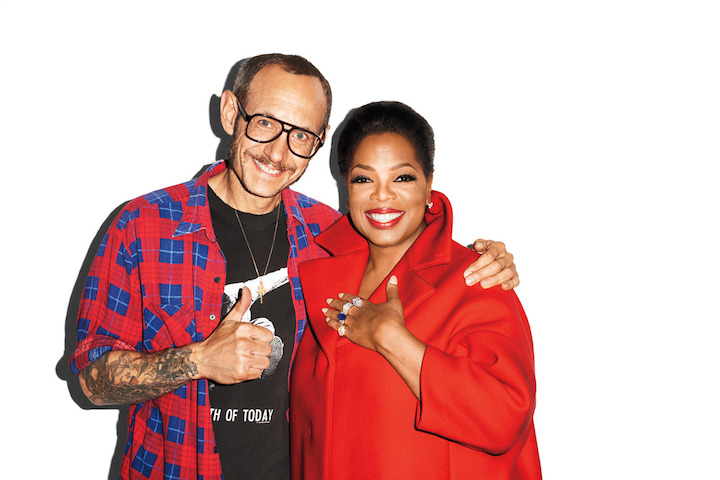 Terry Richardson photographed Oprah for Harper's Bazaar.