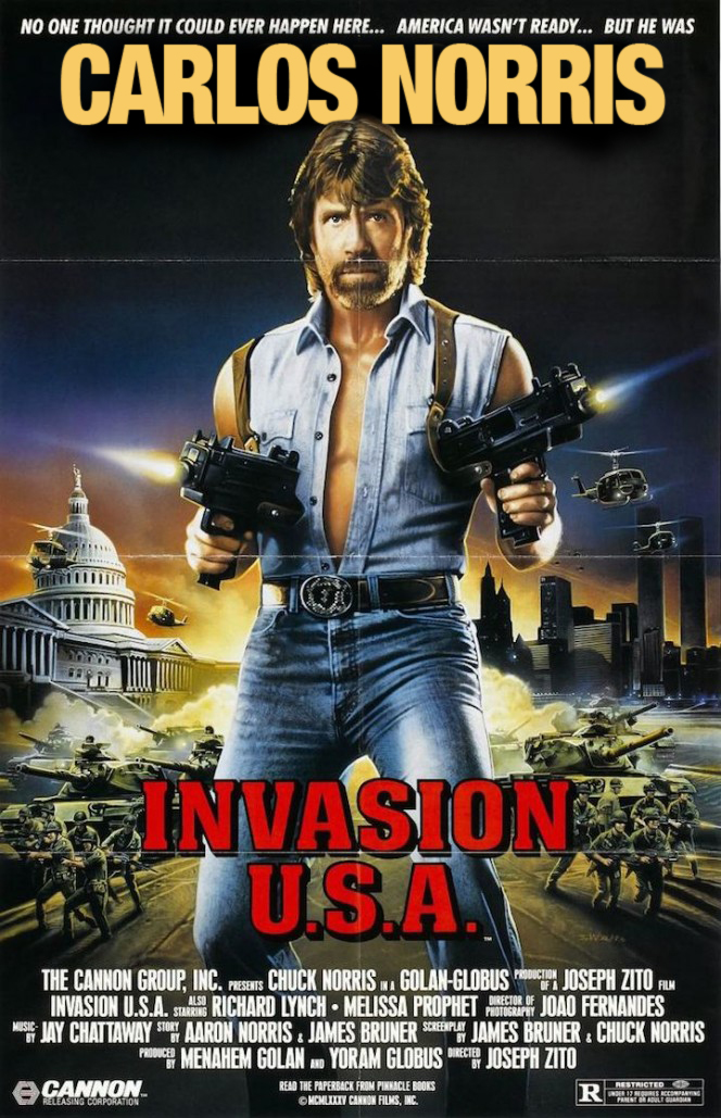 chuck norris invasion usa