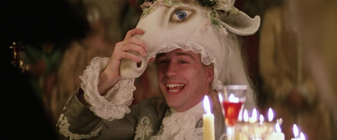 Mozart in a Horse Mask