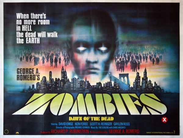 Dawn of the Dead George Romero Movie Poster