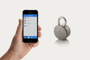 There's a Bluetooth padlock.