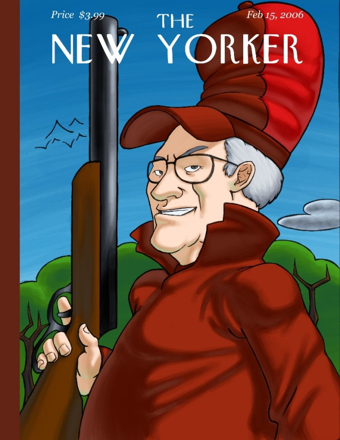 dick cheney as elmer fudd