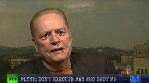 Larry Flynt fought to stop the execution of the man who shot him.