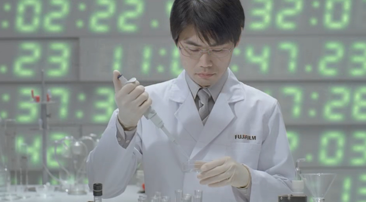 Fujifilm working on virus cures