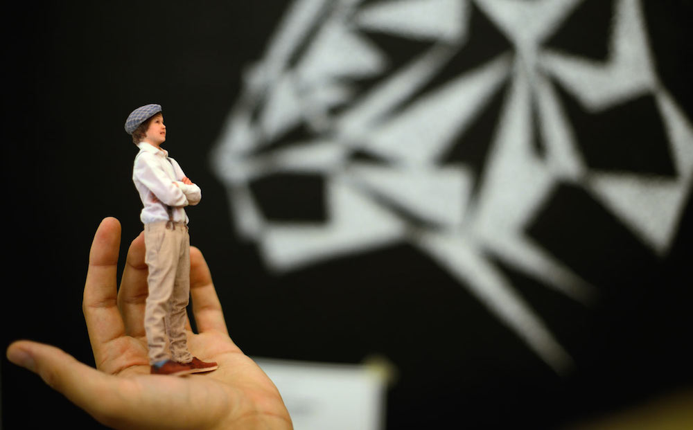 3d printed figurine - 3D selfies