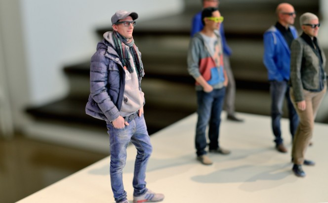 3D Printed Selfies figurines