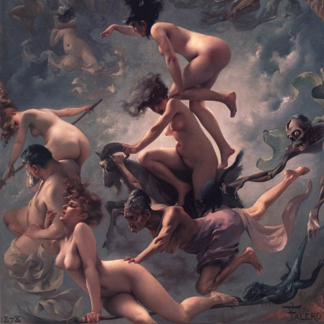 witches orgy by falero