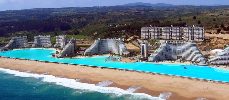 world's biggest pool - chile