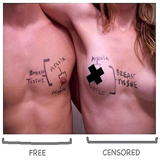 Free The Nipple Diagram