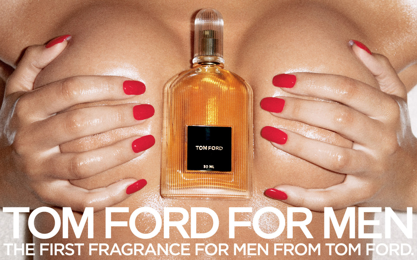tom ford for men boobs ad