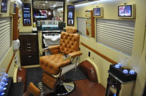 Custom Barber Shop Van