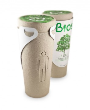 There's a biodegradable urn that transforms you into a tree.