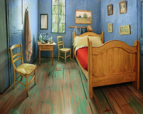 You can sleep in a painting.