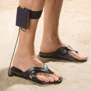 Metal detectors on your feet are the latest treasure hunter trend.