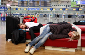 You can beat jetlag by flying west to east.