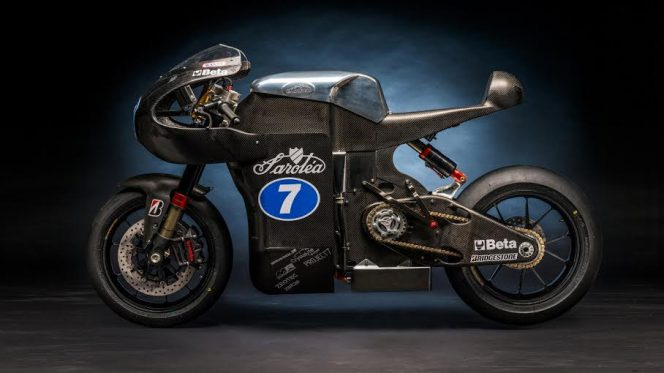 Electric superbikes can be cool and fast.