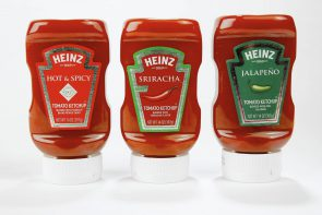 Heinz makes spicy ketchups
