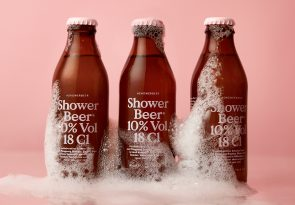 Drinking beer in the shower is great!