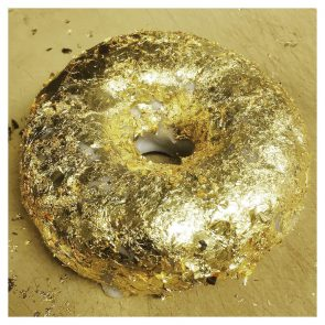 There's an edible 24k gold donut