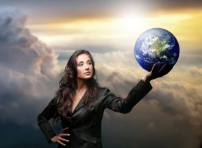 Empowered-Woman-holding-the-world