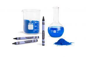 "Superblue pigment ""YInMn"" will be the coolest new Crayola color."