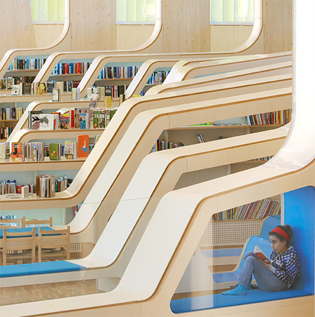 Unknownlist, Norway, Library