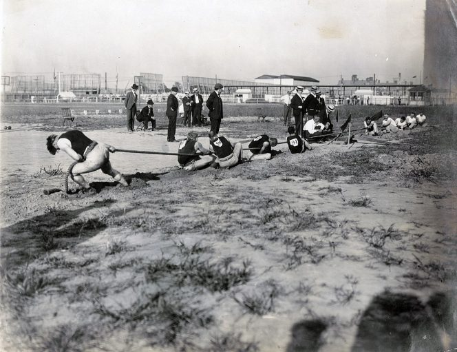 Tug of War, Unknownlist, 1904 Olympics,