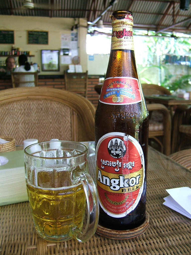 Beer, Cheapest Beer, Angkor, Unknownlist,